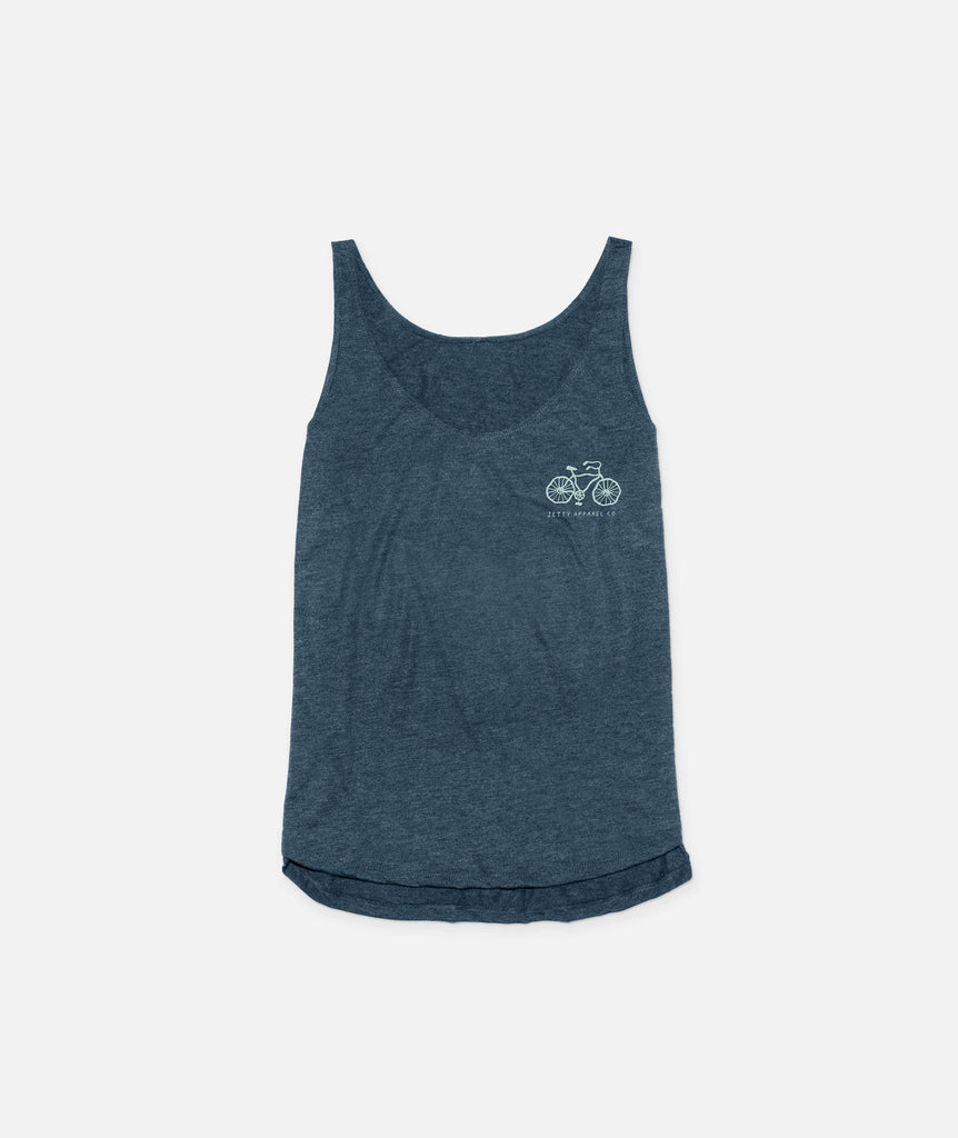 Heat Wave Tank- Navy