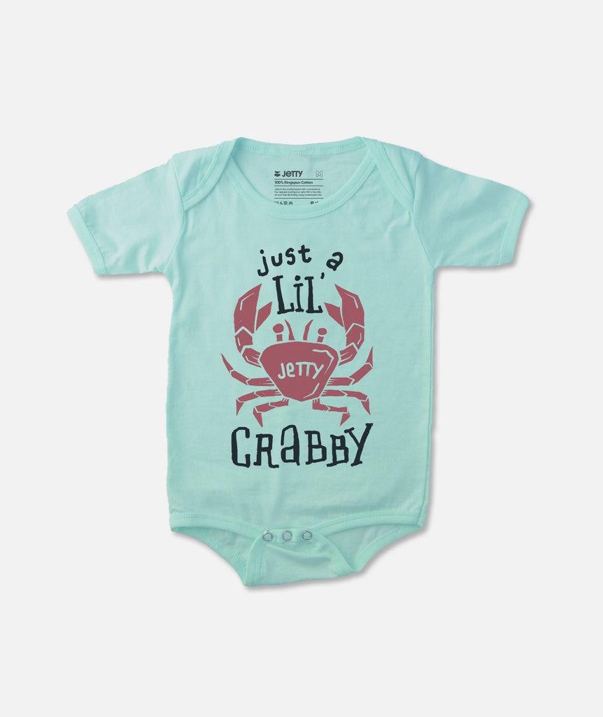 Jetty - Mini Crab Jumper - Light Blue
