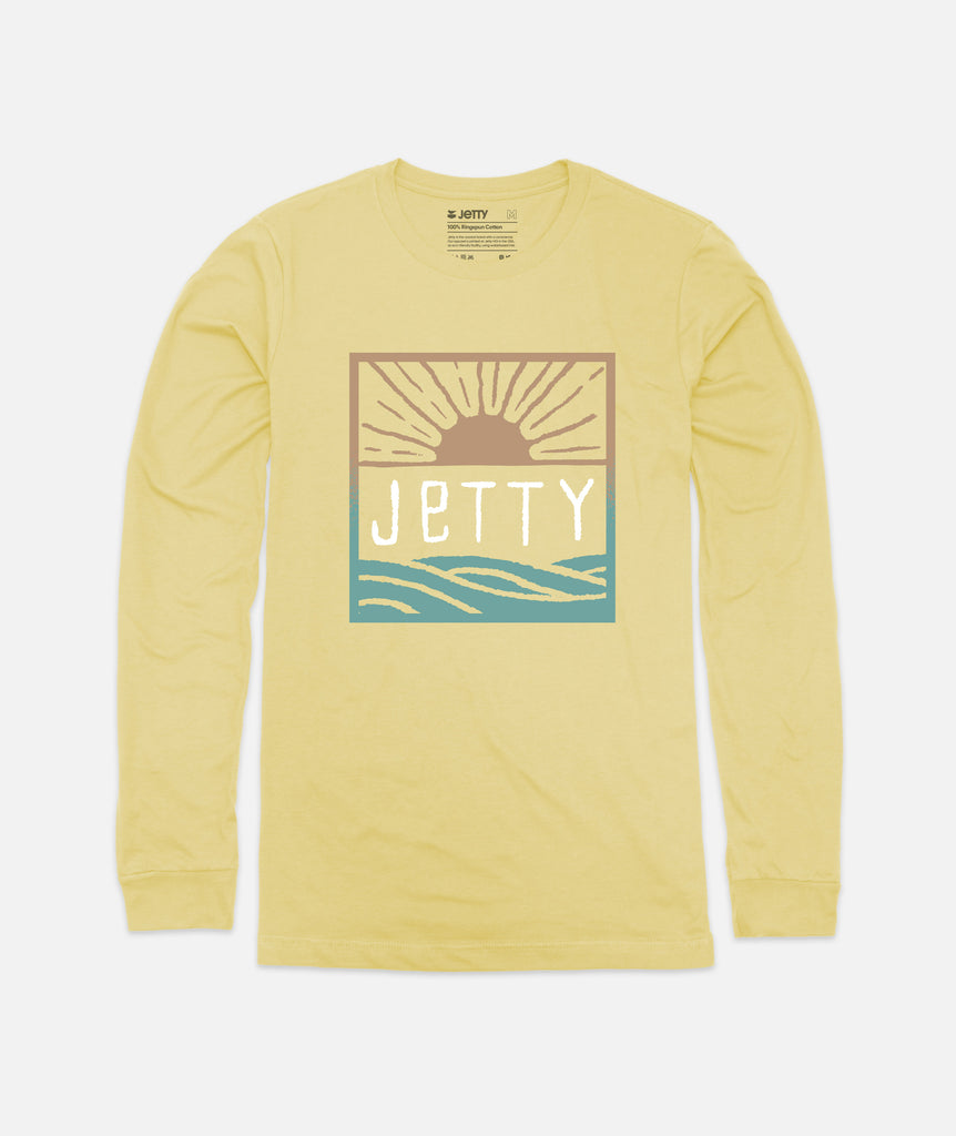 Jetty - Tot Early Bird LS Solar - Yellow