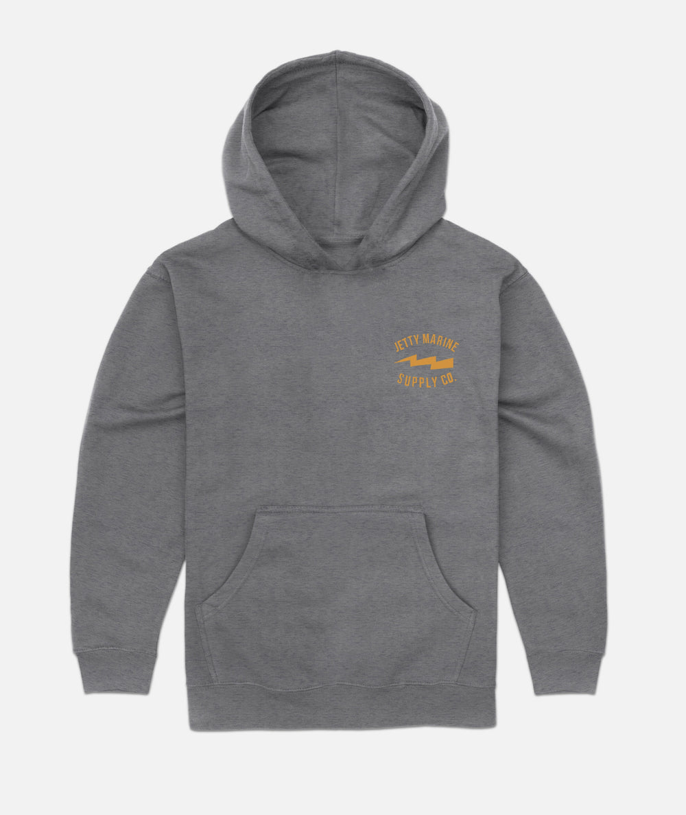 Jetty - Grom Moray Hoodie - Grey