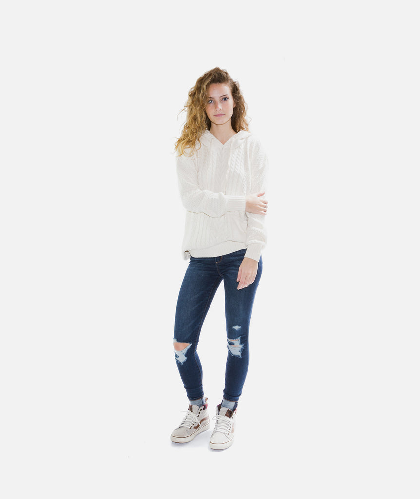 Jetty - Barnegat Sweater- Natural