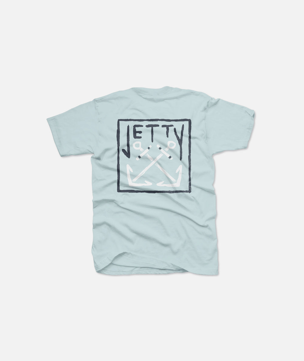 Grom Chranchor Tee- Light Blue