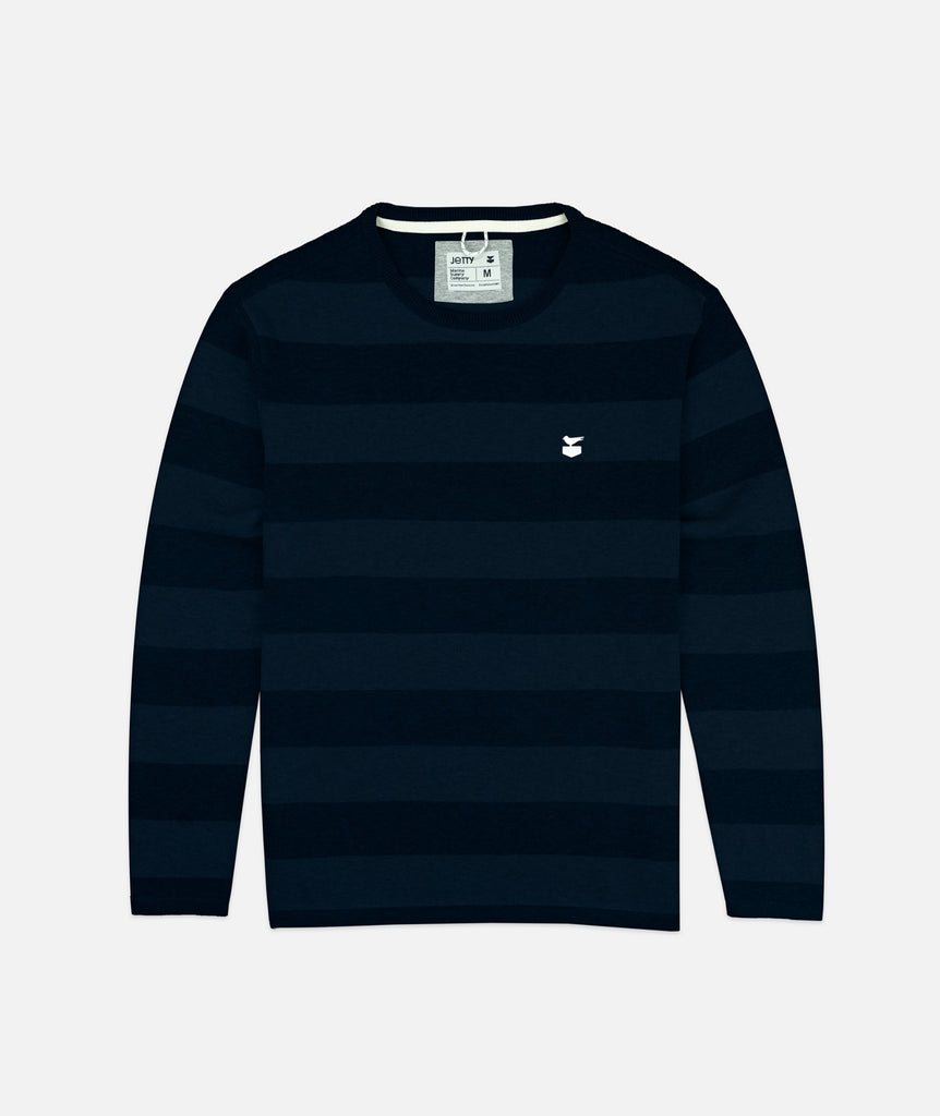 Jetty - Turner Sweater- Navy