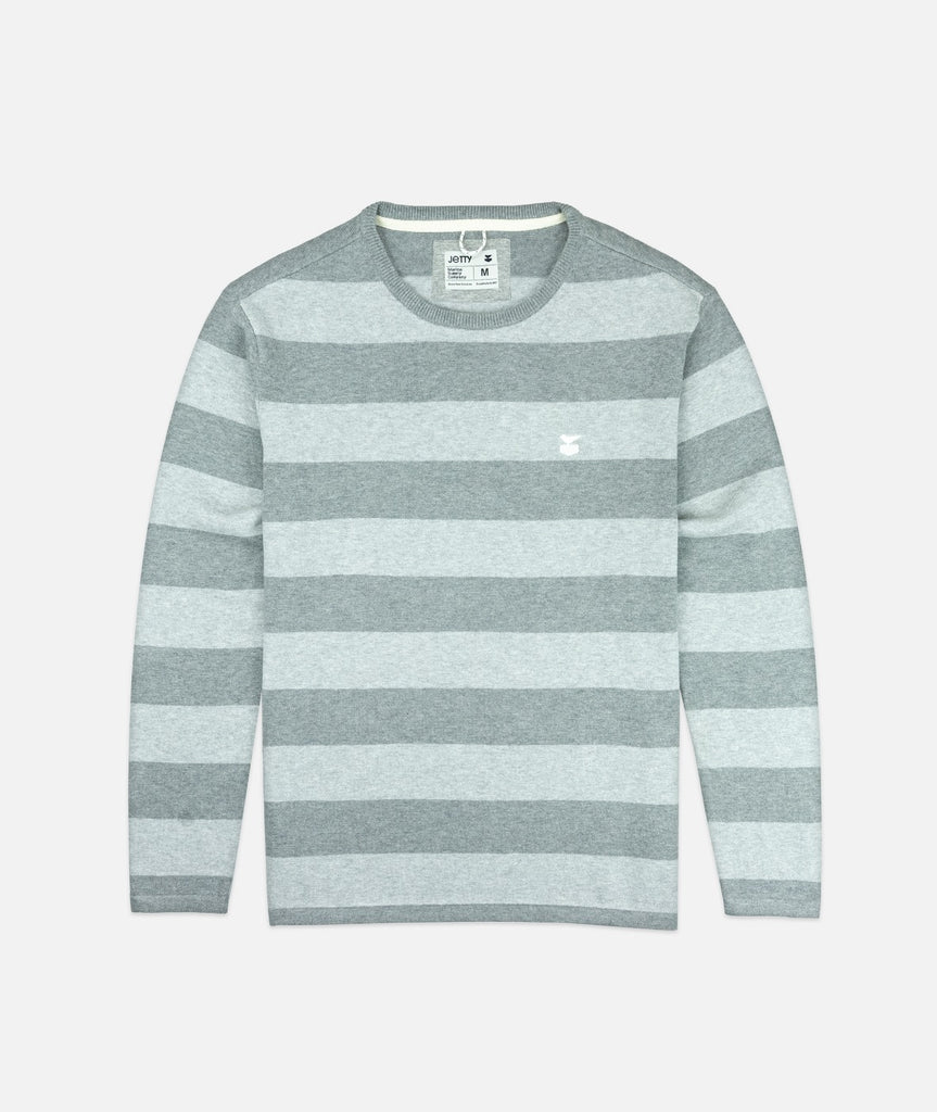Jetty - Turner Sweater- Heather Grey