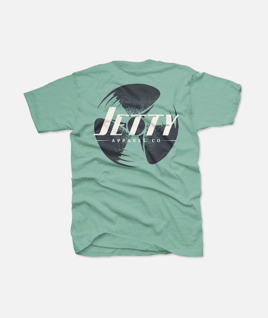 Jetty - Sportsman Tee- Mint