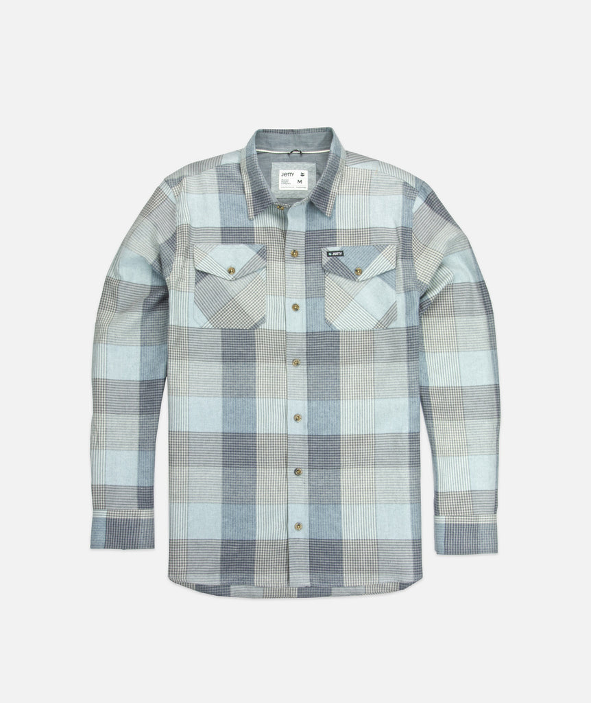 Breaker Flannel- Heather Grey