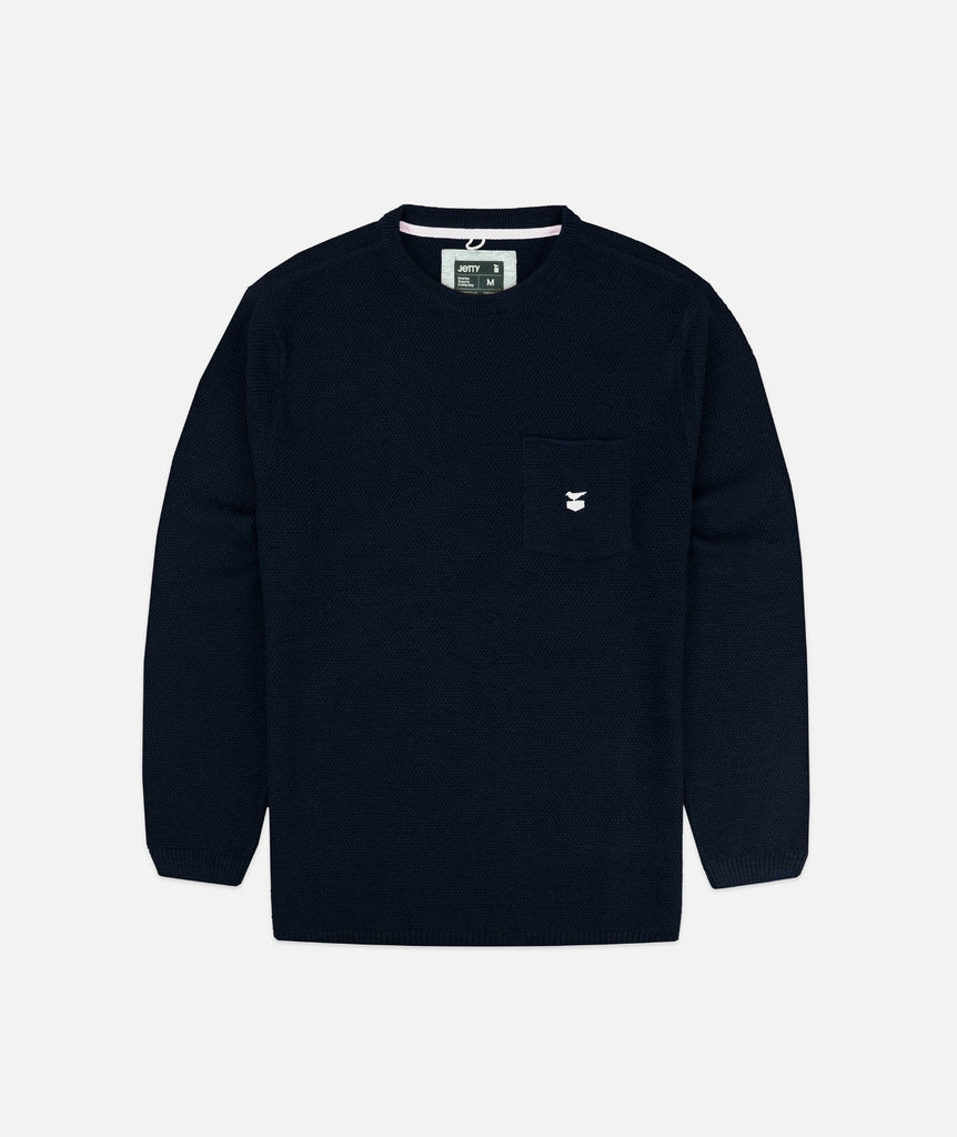 Jetty - Brine Sweater- Navy