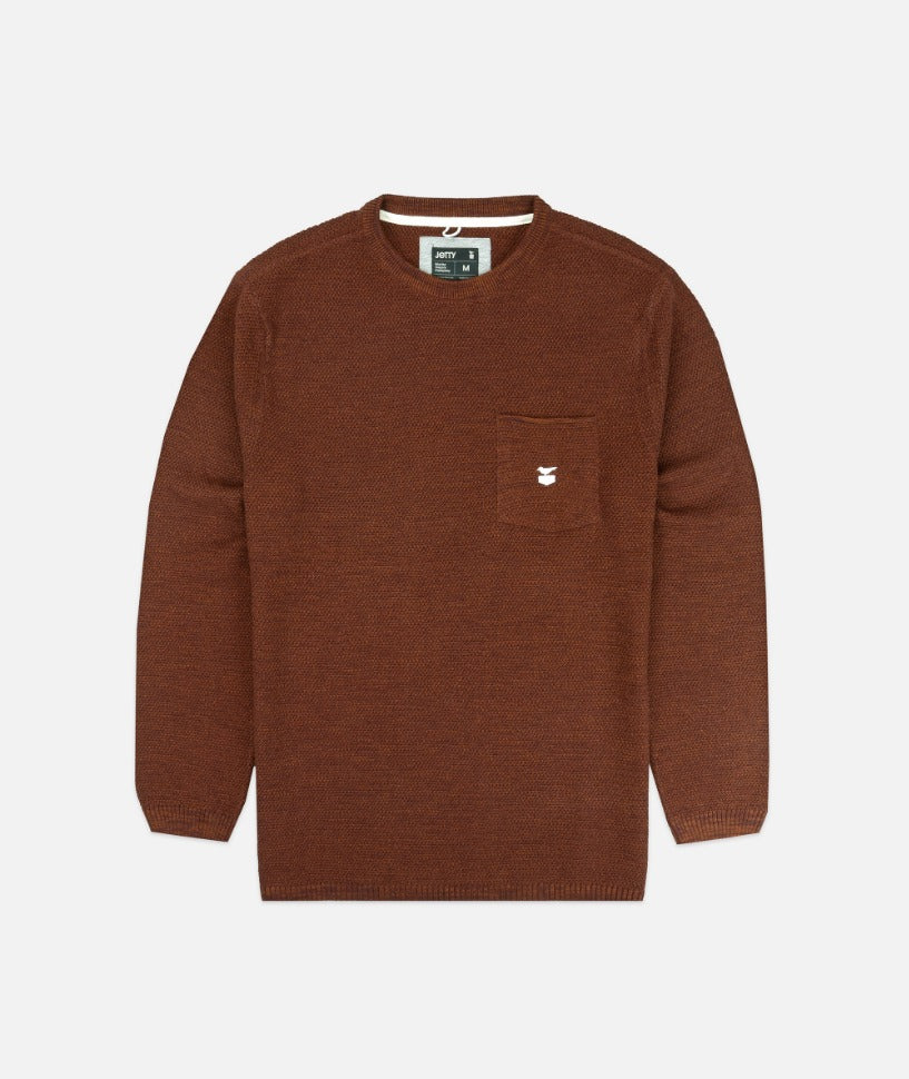 Jetty - Brine Sweater- Camel