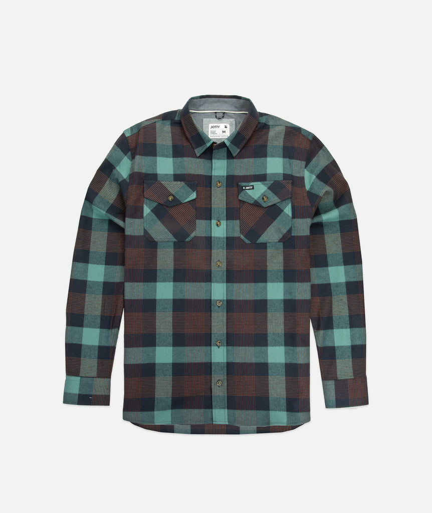 Jetty - Breaker Flannel- Mint