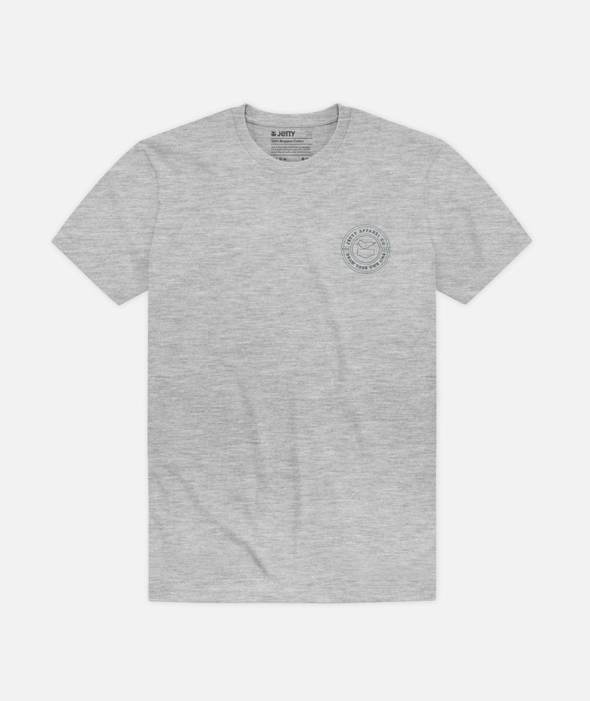 Filament Tee - Heather Grey