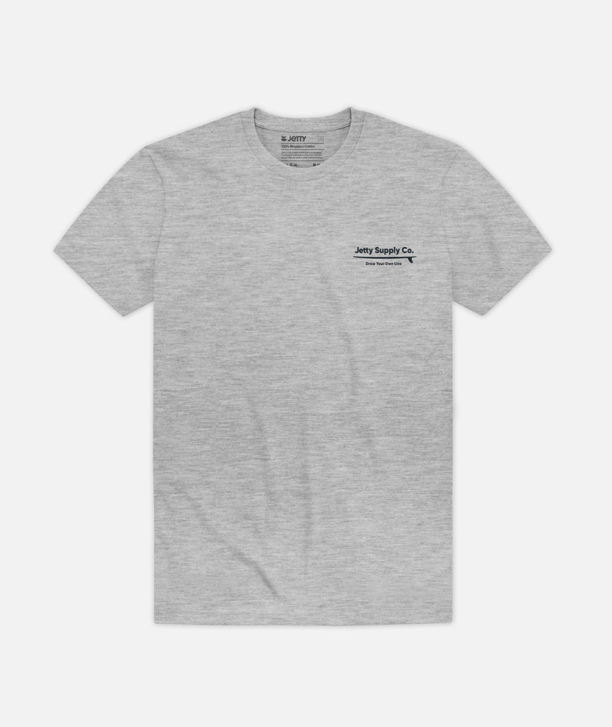 Longboard Tee - Heather Grey