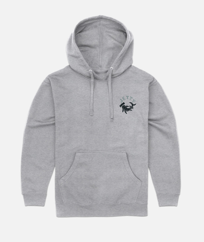 Hammered Hoodie - Heather Grey