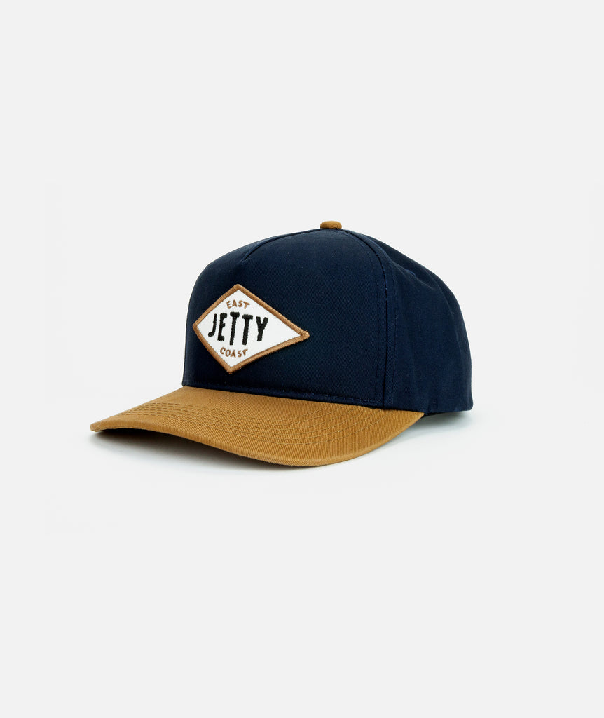 East Diamond Snapback - Navy
