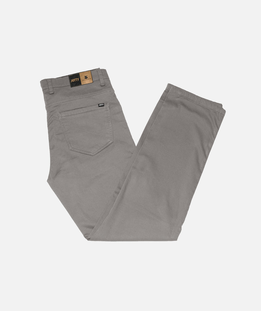 Jetty - Bedrock Pant- Light Grey