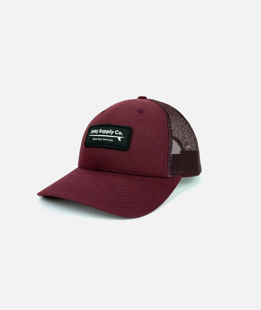 Loggin' Supply Hat - Burgundy