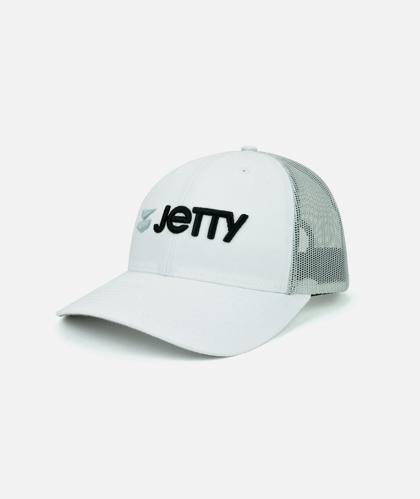 Jetty - Otis Logotype Hat - White
