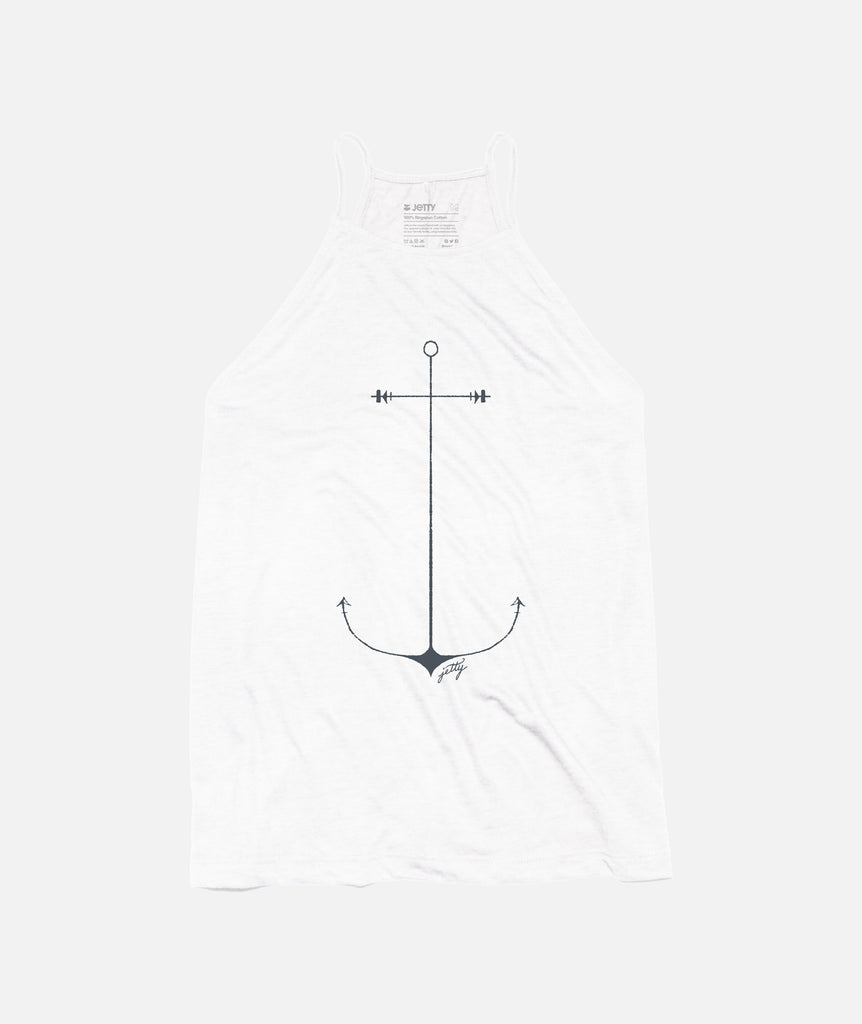 Jetty - Starbaord Port Anchor - White