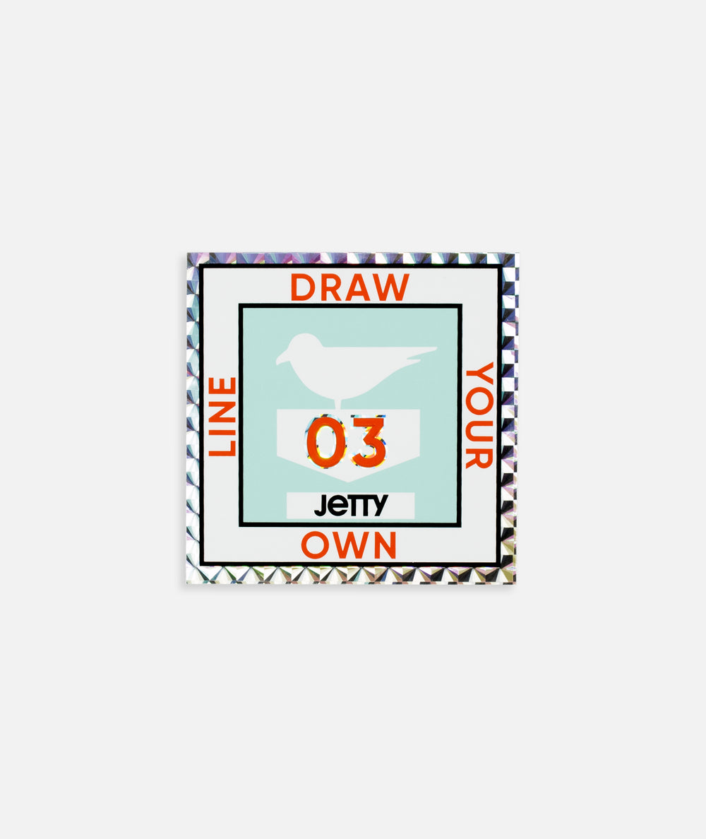 Jetty - License Sticker - Mint