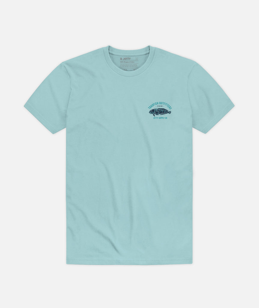 Block Tee - Light Blue