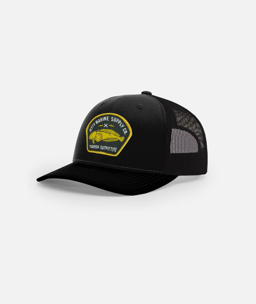 Block Hat - Black