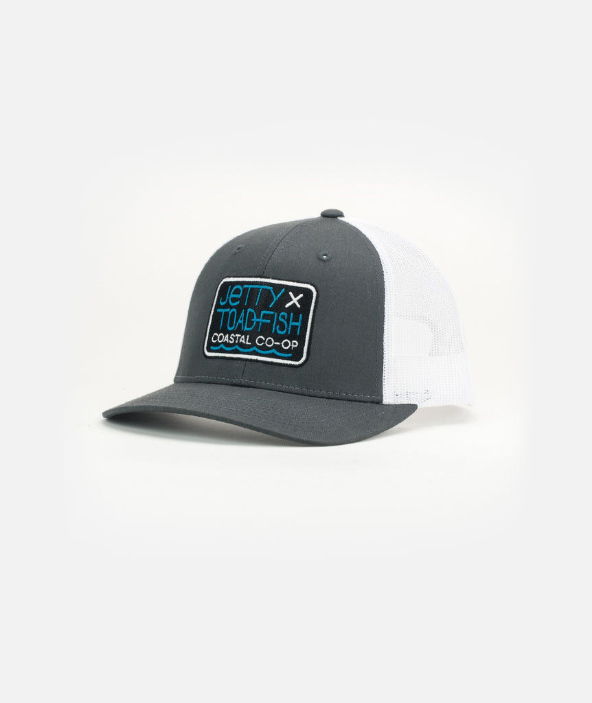 Jetty - Co—Op Hat - Charcoal