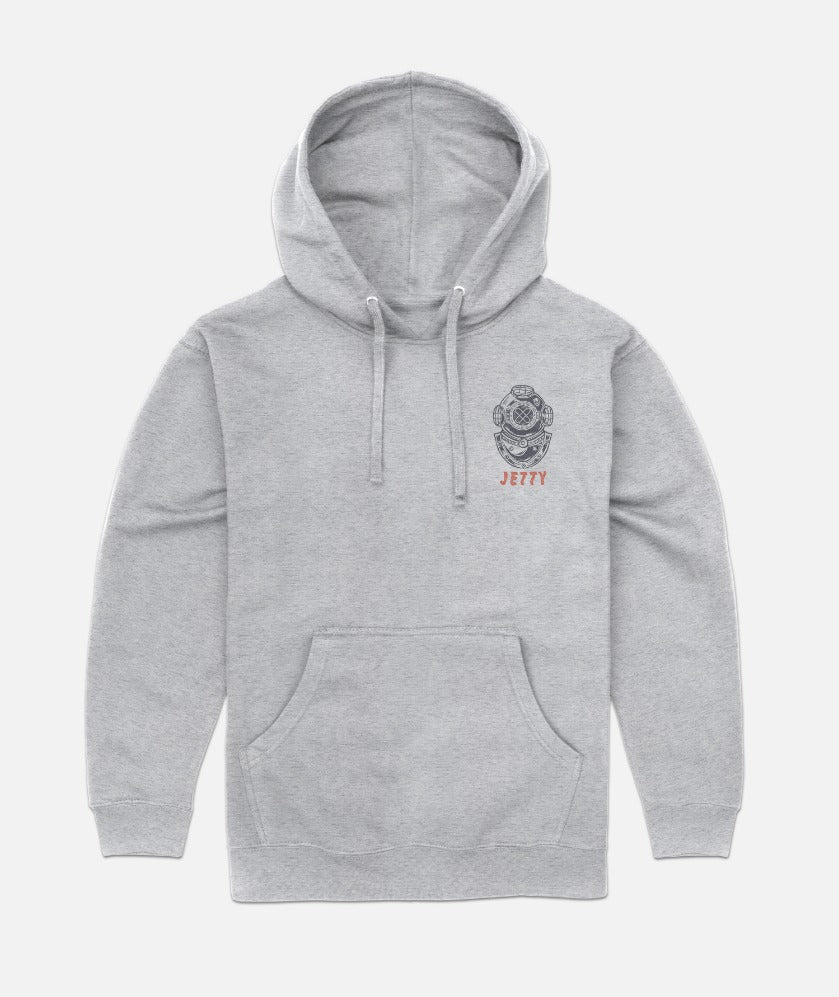 Copperhat Hoodie - Heather Grey