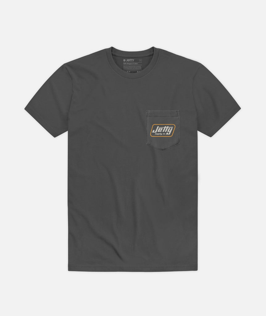 Fastwater Pocket Tee - Charcoal
