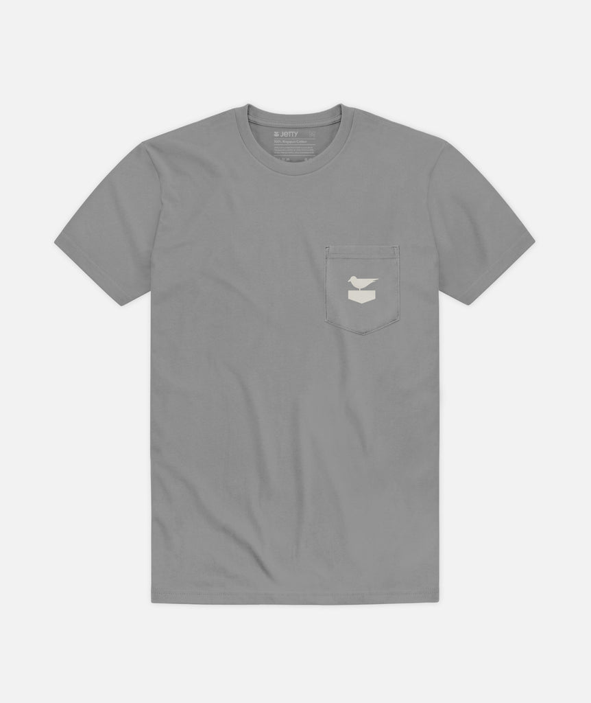 DYOL Pocket Tee - Grey
