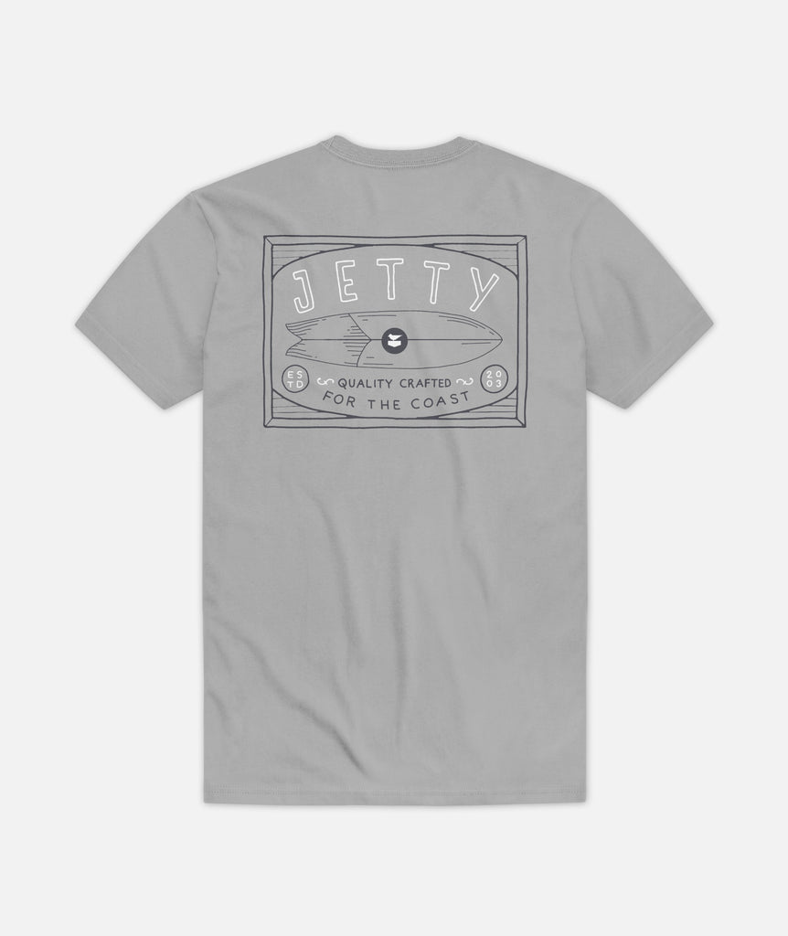 Fishboard Tee - Grey