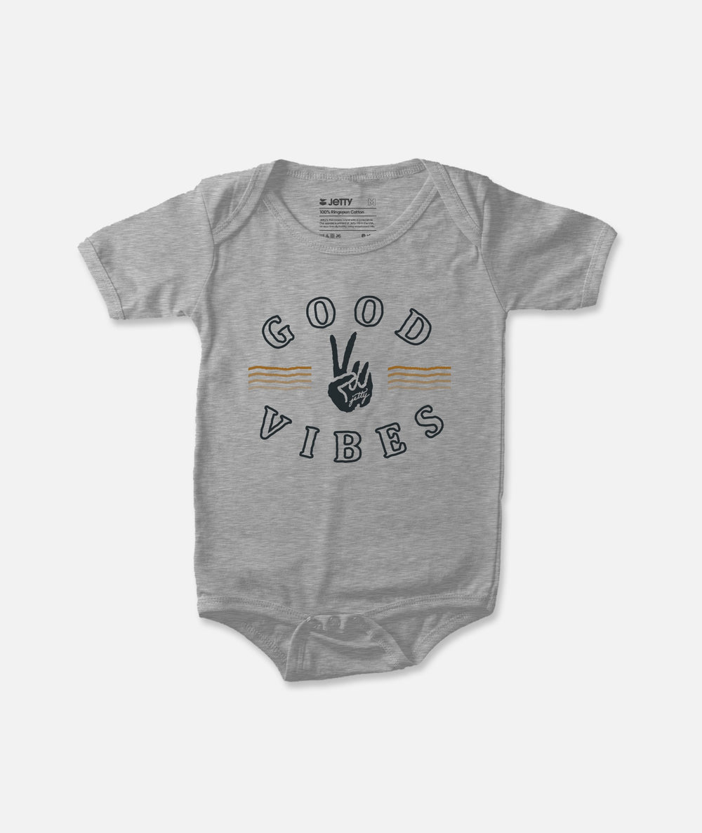 Good Vibes Jumper - Heather Grey