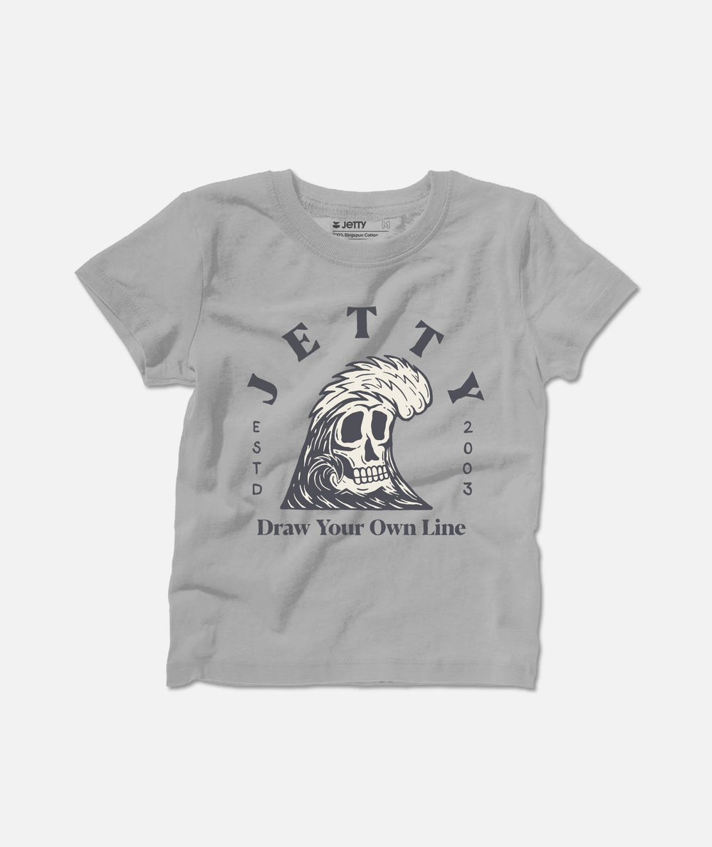 Tot Grim Ripper Tee - Grey