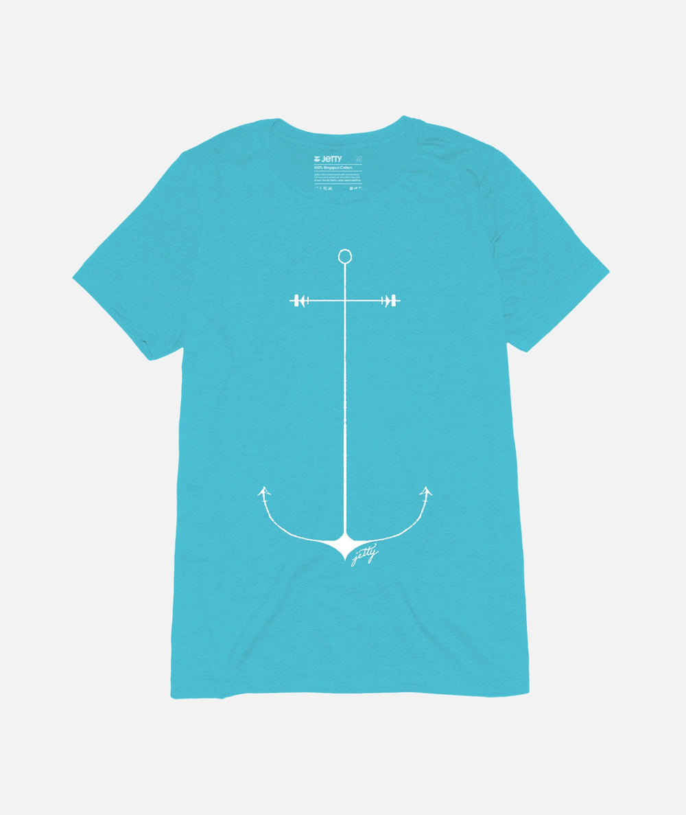 Grom Anchor Tee - Tahiti Blue