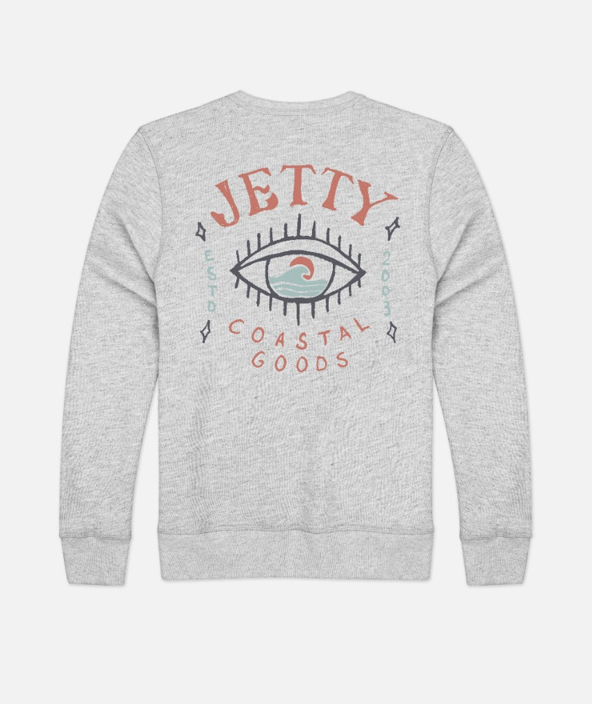 Iris Crew Neck - Heather Grey
