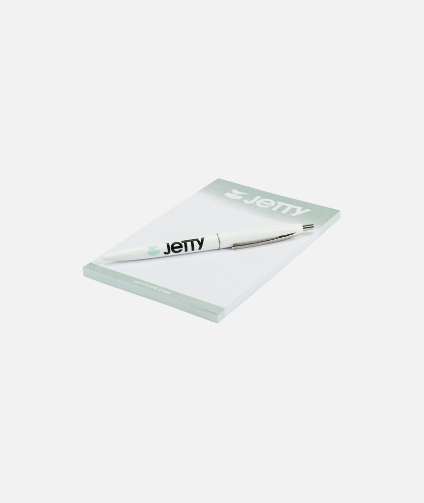 Jetty Notepad and Pen