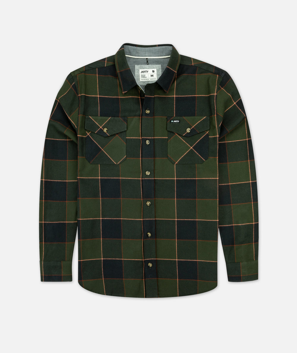Breaker Flannel - Military