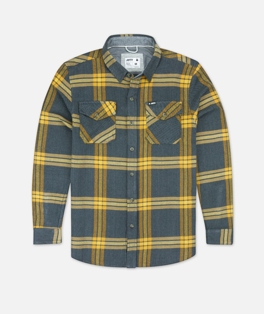 Arbor Heavy Flannel Shirt - Iron