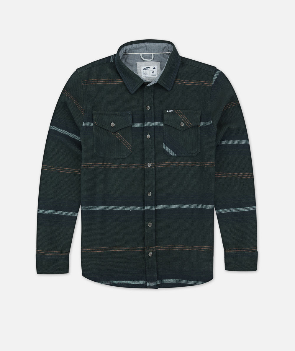 Horizon Flannel - Military