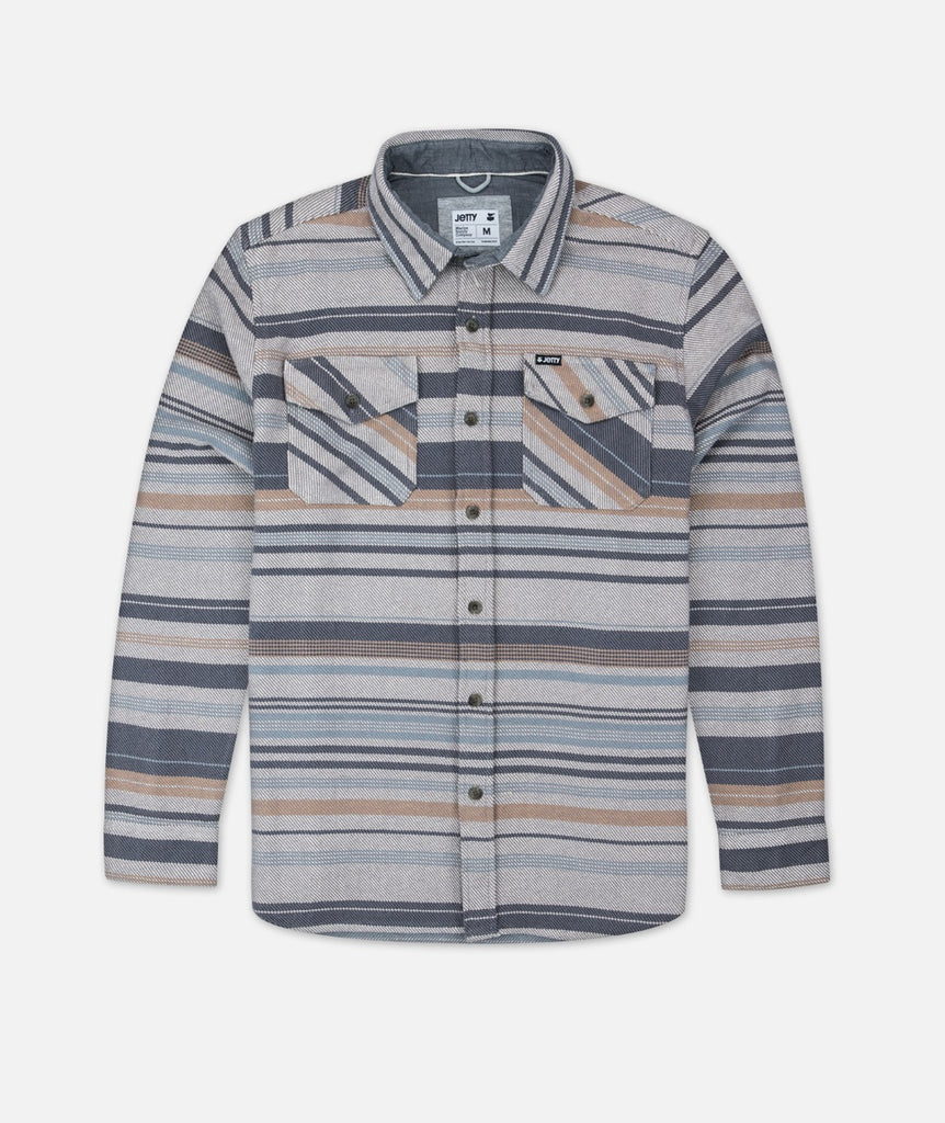 Horizon Flannel - Slate