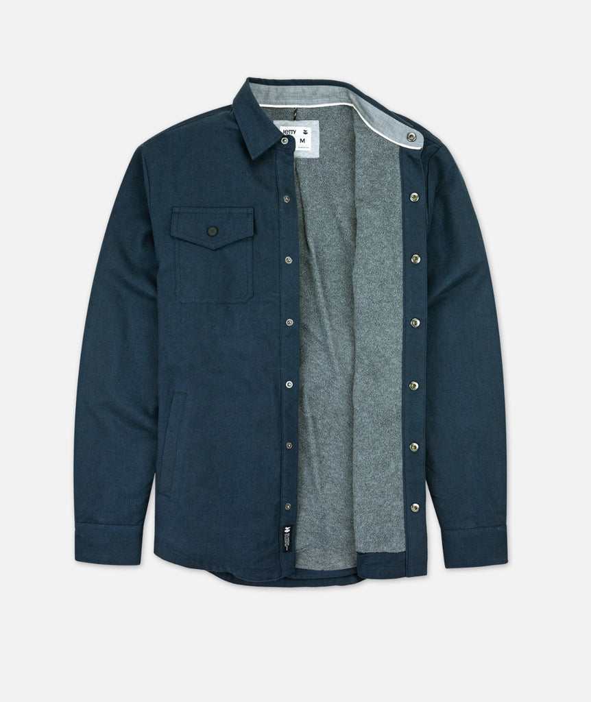 The Spinner Jacket - Indigo