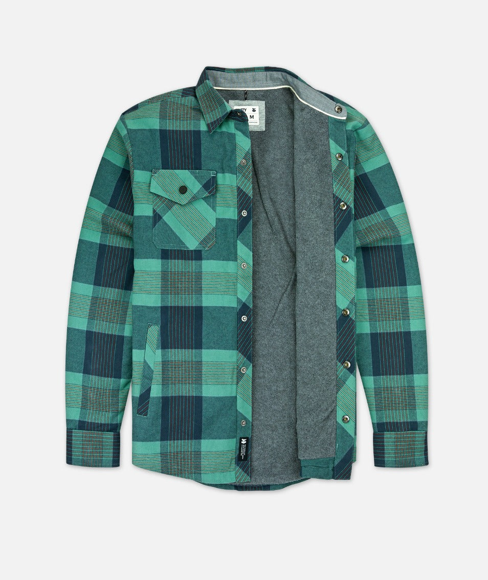 The Spinner Jacket - Teal