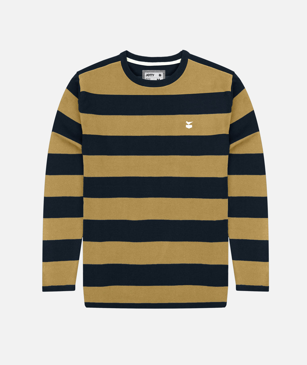 The Turner Sweater - Navy