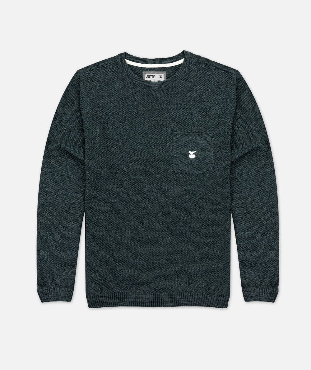 The Brine Sweater - Slate