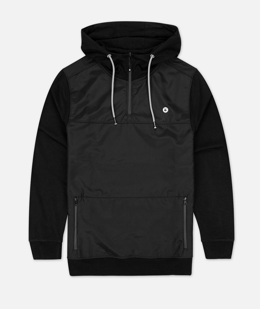 The Stormfront Hoodie - Black