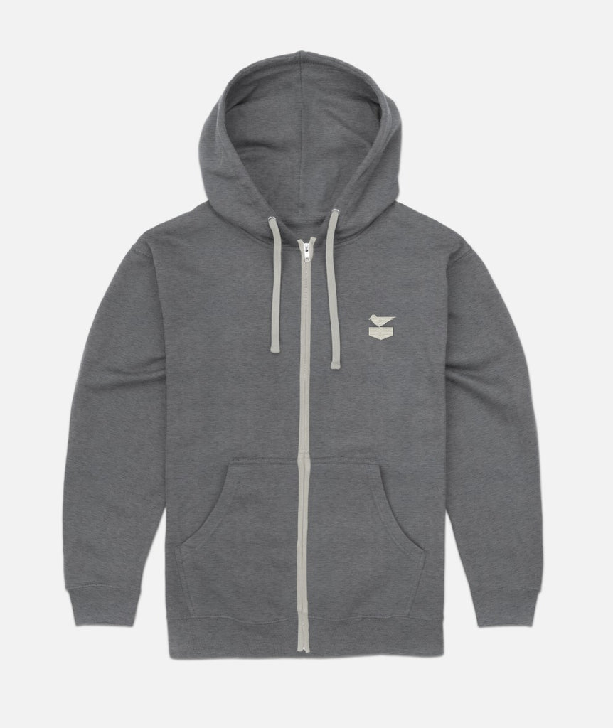 Union Zippy - Heather Grey