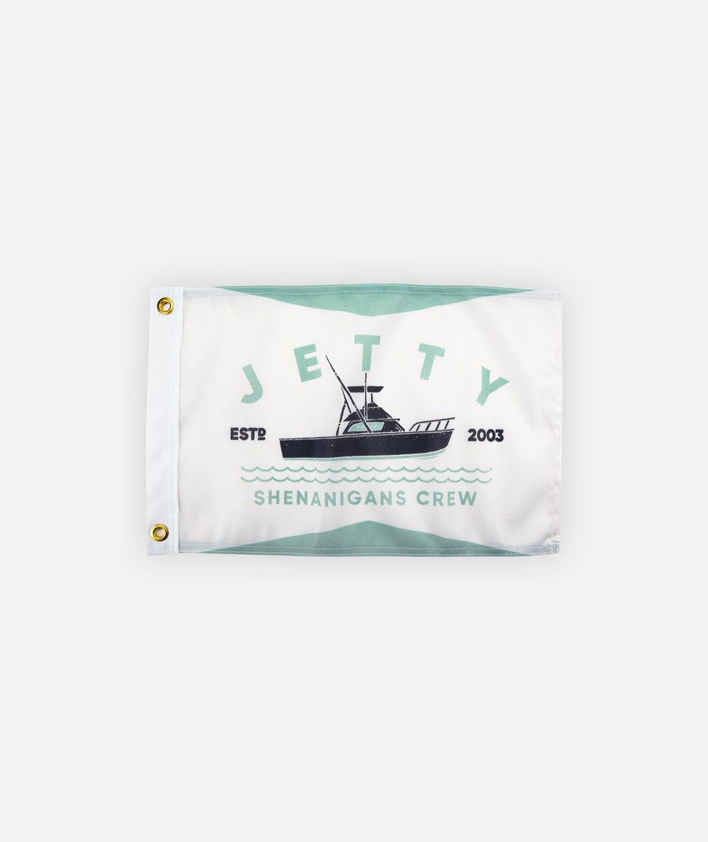Shenanigans Flag - White