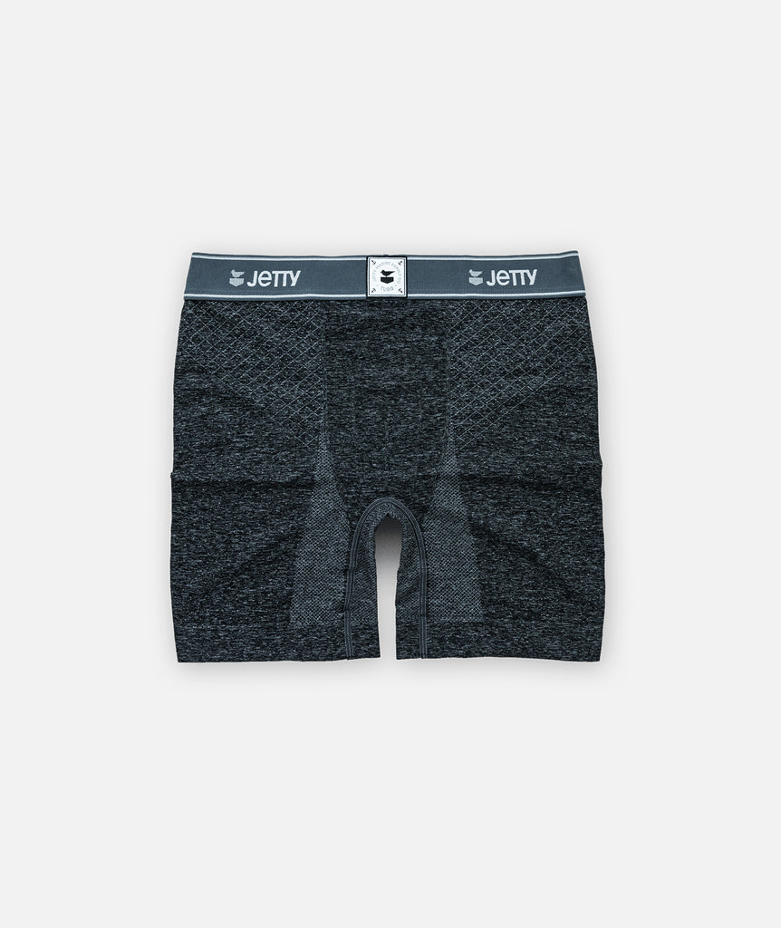 Jetty x Turq Amphibious Performance Briefs - Charcoal