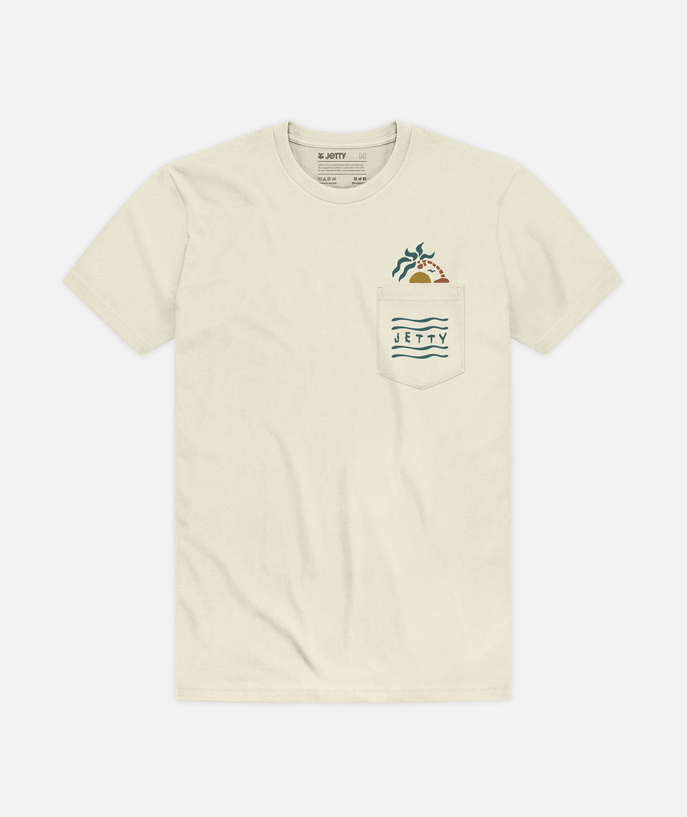 Conscience Pocket Tee - Natural