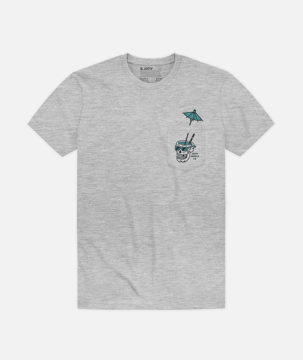 Painkiller Pocket Tee - Athletic Heather