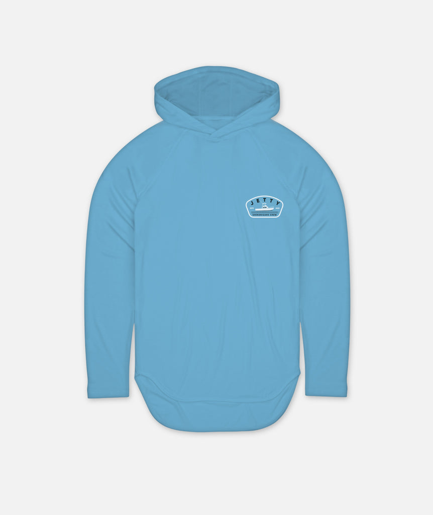 Shenanigans UV Hoodie - Light Blue