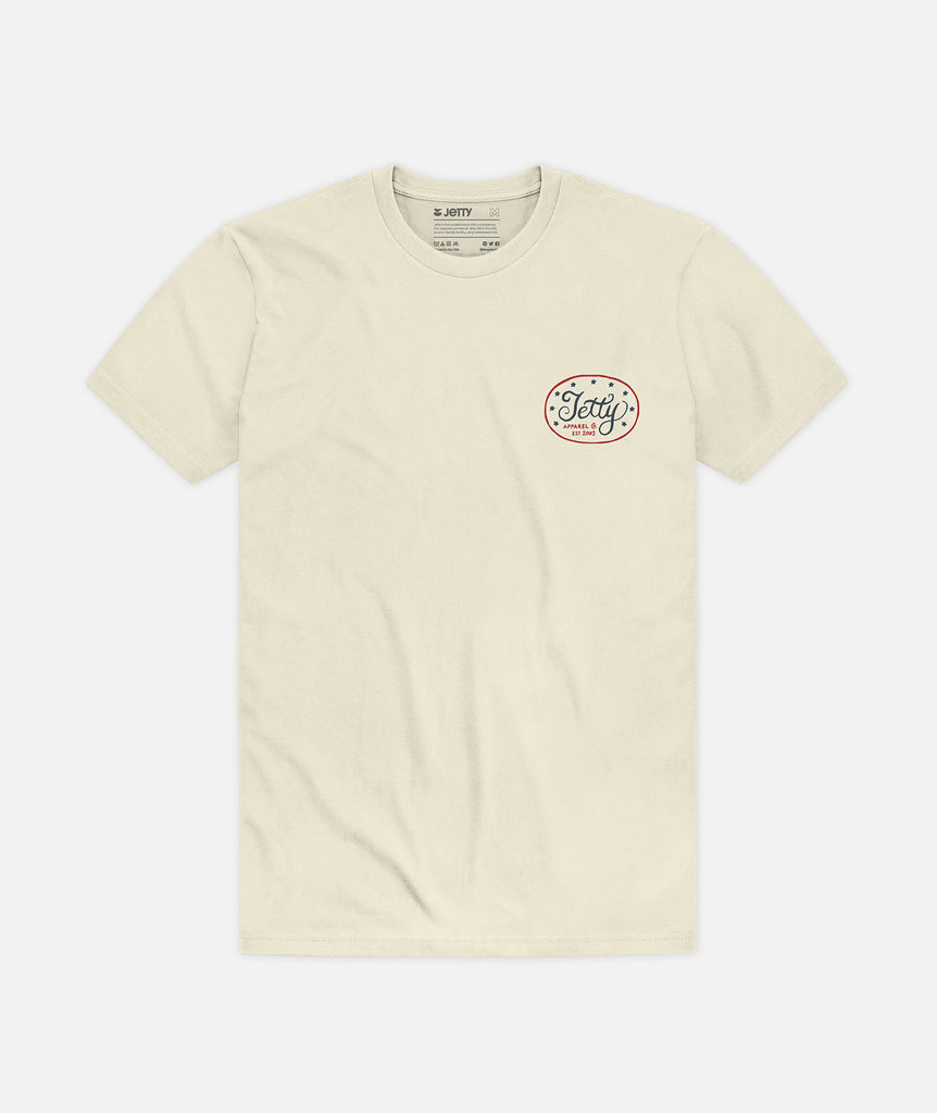 Old Glory Tee - Natural